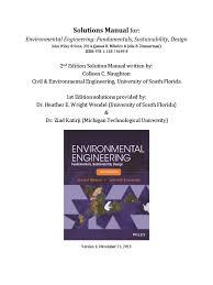 271800869 solution for environmental engineering fundamenta pdf