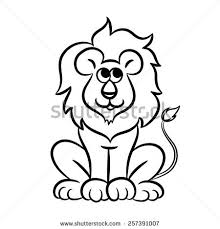 lion outline stock images royalty free images u0026 vectors