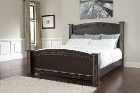 king poster bedroom set buy vachel king poster bed by signature design from www