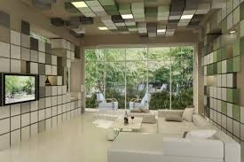 futuristic living room 18545