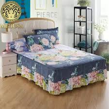 aliexpress com buy medusa country style shabby chic bed skirt
