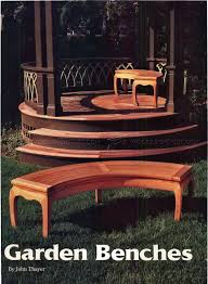 Patio Bench Designs by Garden Bench Plans Japanese Garden Bench Project Plan Wood Stuff