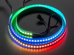 rgb led light strips adafruit neopixel digital rgb led strip 144 led 1m white white
