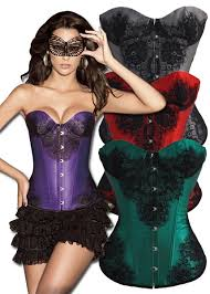 one corset for 8 different styles lace applique corset