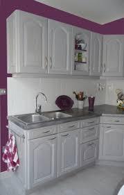 cuisine aubergine et gris wonderful cuisine blanche mur aubergine 0 cuisines eleonore