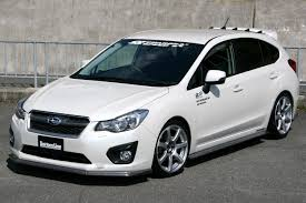 subaru impreza hatchback modified chargespeed subaru impreza gp 5door