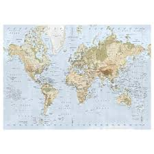 Wall Tapestry Ikea by Amazon Com New Ikea Premiar World Map Picture With Frame Canvas