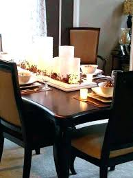how to decorate a round table how to decorate dining table candle centerpieces for dining tables
