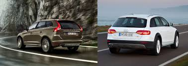 audi minivan volvo xc60 vs audi a4 allroad u2013 uk side by side comparison carwow