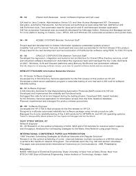 Software Developer Resume Senior Automation Engineer Sample Resume 22 Qtp Resume For Qtp