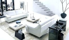 White Living Room Set Contemporary Furniture Living Room Sets Uberestimate Co