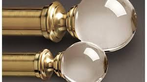 Lucite Drapery Rods Brass Curtain Rods Primedfw Com