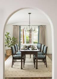 Neutral Dining Rooms 2017 Grasscloth Wallpaper Cream And Blue Dining Room Curtains Design Ideas