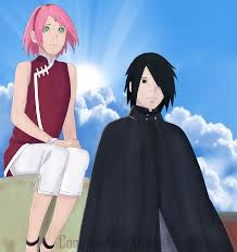 sasuke and sakura sasuke and uchiha boruto the colored by rosolinio on