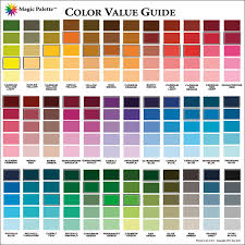 color mixing chart acrylic paint の画像検索結果 color guide01