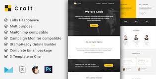 craft v1 2 complete email package responsive templates