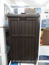 best of patio trash can with outdoor trash cans easy home concepts