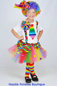 girls circus carnival clown tutu by haydiepotateeboutq on etsy
