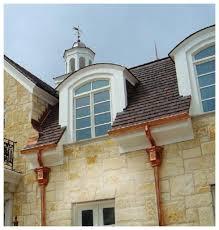 1950 Style Homes Half Round Gutter Systems U0026 Accessories Rain Gutter Rain