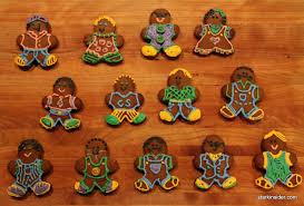 Gingerbread men design ideas