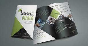 fold brochure template corporate bi fold brochure template brochure templates pixeden
