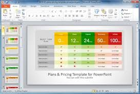 Cool Excel Templates Best Comparison Chart Templates For Powerpoint