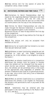 Icf Plans by Icf Paracanoe Rules 2015