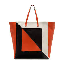 shades of orange objects of desire zara leather totes also currently on sale