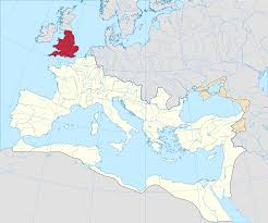 Roman Map Roman Britain Wikipedia