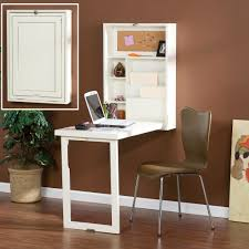 Small Writing Desks For Small Spaces Small White Fold Out Convertible Writing Desk With Shelves For