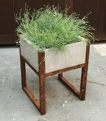 modern plant pots ana white home depot dih workshop modern paver planter diy latest