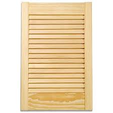 kitchen cabinet doors pine applications pine louvre kitchen cabinet door 72in