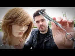 cut your own shag haircut style shag haircut tutorial medium length layered haircut with a razor