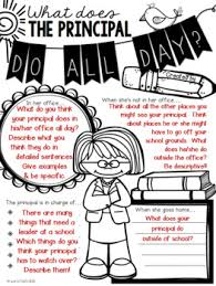 what does the principal do all day poster activity by creative