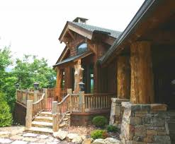 exterior design satterwhite log homes with gable roof and