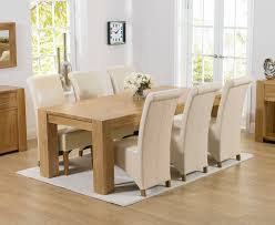 solid oak table with 6 chairs spectacular chunky solid oak dining table and 6 chairs f65 on