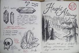 gravity falls journal 3 replica height altering leoflynn