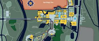 Traffic Map San Diego by Maps U0026 Directions Balboa Park