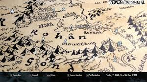 map from lord of the rings if bethesda made a lord of the rings nerdburglars gaming