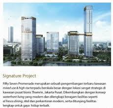 57 promenade apartment for rent sale jakarta apartments