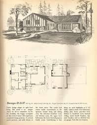 vintage house plans mid century homes split level homes houses