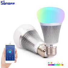 remote to turn off lights sonoff b1 smart wifi l dimmable e27 led l rgb color light