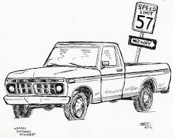 birthday card with 1976 ford f150 pickup truck a quick scr u2026 flickr