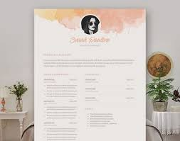 resume awesome resume templates 1 page resume design template