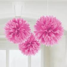 fluffy tissue paper decorations s