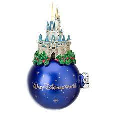 your wdw store disney ornament cinderella castle