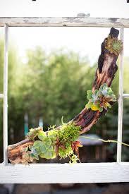singing gardens blog driftwood centerpiece nature inspired