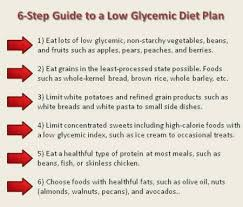 a low glycemic diet plan can help control your diabetes diabetes
