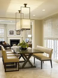 Rectangular Dining Room Light Fixtures Marvelous Rectangular Dining Room Lights With Rectangle Dining