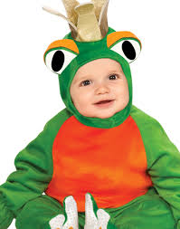 cuddly jungle frog prince boys 6 12 months warm halloween costume
